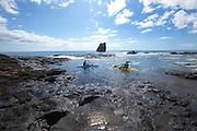 Nanahoa, Pinnacles, Five Needles, Lanai, Hawaii