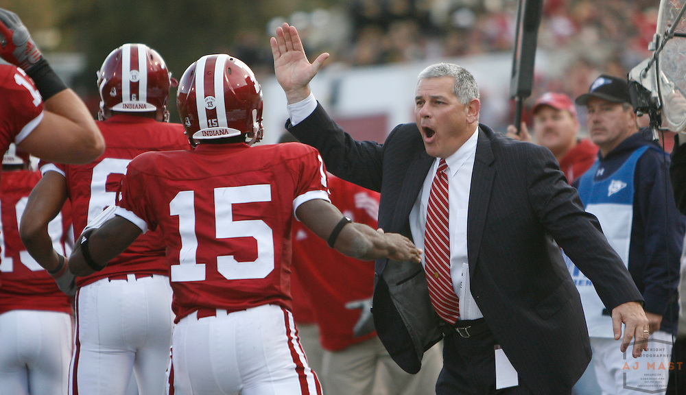 17 November 2007: Indiana Athletics director Rick Greenspan as the Indiana Hoosiers played the Purude Boilermakers in a college football game in Bloomington, Ind. Indiana won 27-24.