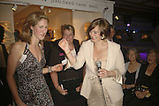 Cherie Booth ON RAFFLE, Gala champagne reception and dinner in aid of CLIC Sargent.  Grosvenor House Art and Antiques Fair.  Grosvenor House. Park Lane. London. 14 June 2006. ONE TIME USE ONLY - DO NOT ARCHIVE  © Copyright Photograph by Dafydd Jones 66 Stockwell Park Rd. London SW9 0DA Tel 020 7733 0108 www.dafjones.com