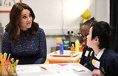 Duchess of Cambridge at Place2Be's training - 7 March 2018