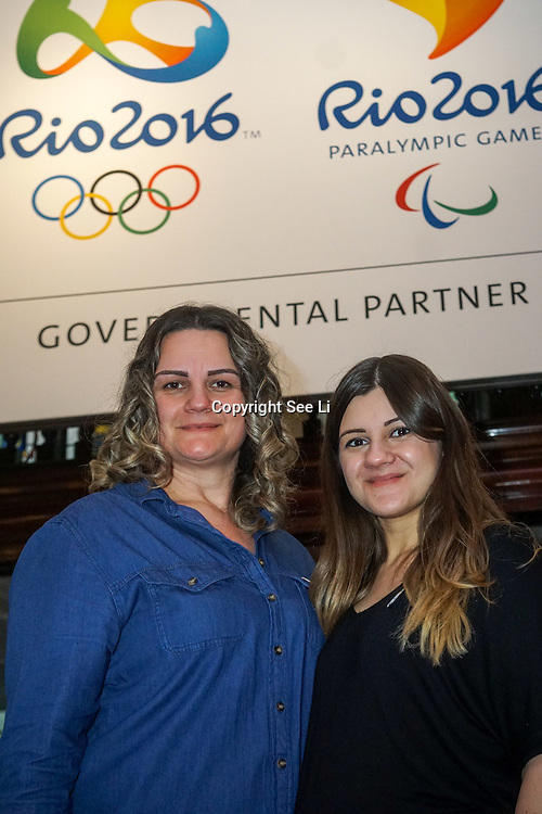 London,England,UK, 10th Aug 2016 : The Anglo-Barzilian Society hosts the Rio Olympic Lounge Party celebrate the Rio Olympics and get you into the Olympic spirit opening throughout Rio2016 at the Embassy of Brazil in London,UK. Photo by See Li