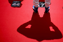 May 13, 2018 - Barcelona, Catalonia, Spain - May 13th, 2018 - Circuit de Barcelona-Catalunya, Montmelo, Spain - Race of Formula One Spanish GP 2018; Valtteri Bottas of Mercedes-AMG-Petronas Formula One  Team in the grid before start the race. (Credit Image: © Eric Alonso via ZUMA Wire)