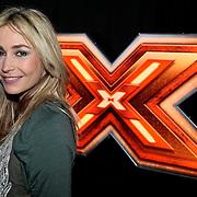 NLD/Amsterdam/20100202 - Perspresentatie X-Factor 2010, jury, zwangere Wendy van Dijk