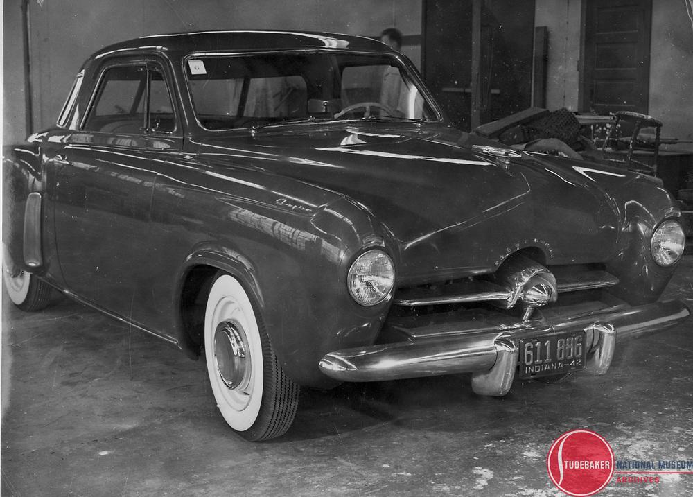 Design proposal for Studebaker's new 1947 Champion line.