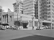 9969-6672. Portland bus depot, southwest Fifth Avenue and Taylor Street. July 22, 1946.