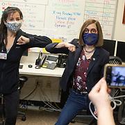Oregon Gov. Kate Brown Vaccination_030621