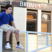 London, United Kingdom - Tuesday 22 May 2012 - Wager Street, Faron Smith.