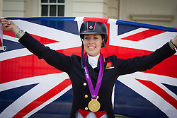 Dujardin Charlotte (GBR)<br /> Olympic Games London 2012<br /> © Dirk Caremans