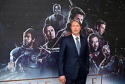 Mads Mikkelsen attending a special screening of Rogue One: A Star Wars Story at the BFI IMAX, London. PRESS ASSOCIATION Photo. Picture date: Tuesday December 13, 2016. See PA story SHOWBIZ Rogue One. Photo credit should read: Ian West/PA Wire