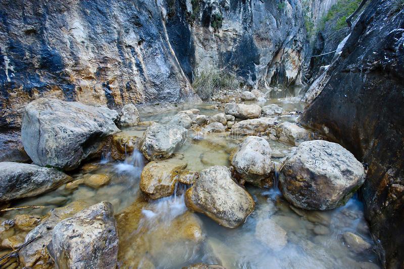 Hoz del rio Trabaque. Parque Natural de la Serranía de Cuenca. Cuenca ©Antonio Real Hurtado / PILAR REVILLA