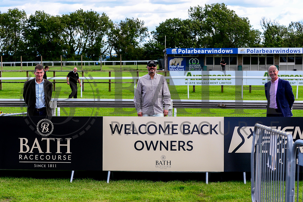 Bath Racecourse welcome back owners to the course after the Covid-19 Pandemic - Mandatory by-line: Dougie Allward/JMP - 10/07/2020 - HORSE RACING - Bath Racecourse - Bath, England - Bath Races
