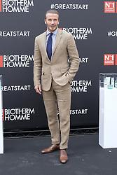 June 20, 2017 - Madrid, Spain - David Beckham attends the presentation of Biotherm Homme in Madrid. June 20, 2017  (Credit Image: © Oscar Gonzalez/NurPhoto via ZUMA Press)