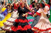 Espagne. Andalousie. Feria de Seville // Feria of Sevilla. Andaloucia. Spain