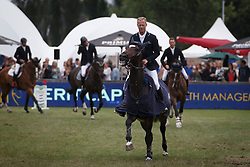 Bruynseels Niels, (BEL), Cas de Liberte <br /> Winner of the Grand Prix Meritt Capital<br /> Jumping Kapellen 2015<br /> © Hippo Foto - Dirk Caremans<br /> 12/07/15