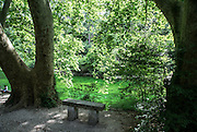 The spring at Fontaine-de-Vaucluse (Vaucluse department) the source of the Sorgue river in southeastern France