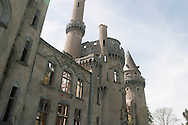 bel air castle in ruins in limousin france  /  chateau de bel air en ruines, limousin france