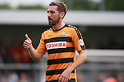 Barnet player Tom Champion during the Sky Bet League 2 match between Barnet and Wycombe Wanderers at Underhill Stadium, London, England on 15 August 2015. Photo by Bennett Dean.