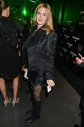 PRINCESS MARIA THERESIA OF THURN AND TAXIS at a reception to celebrate Dom Perignon and Iris van Herpen's collaboration 'Metamorphosis' held at the Hus Gallery, 10 Hanover Street, London on 27th October 2014.