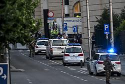 June 20, 2017 - Bruxelles, Belgique - Attentat  la ceinture explosive  la gare centrale de Bruxelles: le terroriste abattu (Credit Image: © Panoramic via ZUMA Press)
