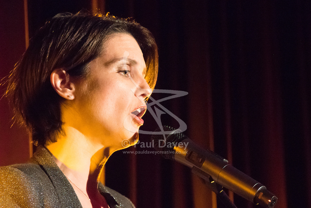 Old Town Hall, Stratford, London - 28 November 2015. Singers Marc Almond, Ronan Parke, Heather Peace and Asifa Lahore headline the Peter Tatchell Foundation's inaugural Equality Ball, a fundraiser for the foundation's LGBTI and human rights work, with guest of honour Sir Ian McKellen  joined by Paul O'Grady, Rupert Everett and Michael Cashman. PICTURED:   //// FOR LICENCING CONTACT: paul@pauldaveycreative.co.uk TEL:+44 (0) 7966 016 296 or +44 (0) 20 8969 6875. ©2015 Paul R Davey. All rights reserved.