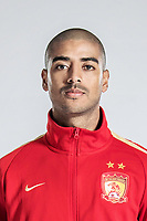 **EXCLUSIVE**Portrait of Brazilian soccer player Alan Carvalho of Guangzhou Evergrande Taobao F.C. for the 2018 Chinese Football Association Super League, in Guangzhou city, south China's Guangdong province, 8 February 2018.