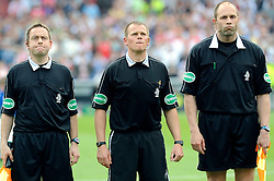 27-04-2008 VOETBAL: KNVB BEKERFINALE FEYENOORD - RODA JC: ROTTERDAM <br /> Feyenoord wint de KNVB beker - Jack van Hulten, Rob Meenhuis en Hans Olde Olthof<br /> ©2008-WWW.FOTOHOOGENDOORN.NL