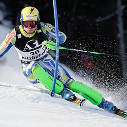 20110123: AUT, FIS World Cup Ski Alpin, Men Slalom, Kitzbuehel