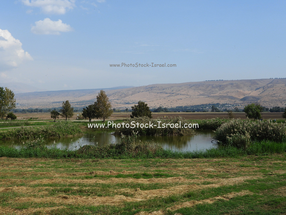 Israel, Hula Valley, Agmon lake nature reserve A small section of the valley was later re-flooded in an attempt to revive a nearly extinct ecosystem. An estimated 500 million migrating birds now pass through the Hula Valley every year