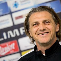 20170404: SLO, Football - Press conference of NK Olimpija Ljubljana