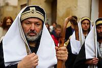 Italie, Sicile, Marsala, Paques, procession de la passion du christ, vendredi saint //  Italy, Sicily, Marsala, Holy Thursday, procession of Mistery (Processione dei Misteri viventi)