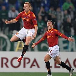 20100225: ITA, UEFA EL, AS Rom vs Panathinaikos Athen