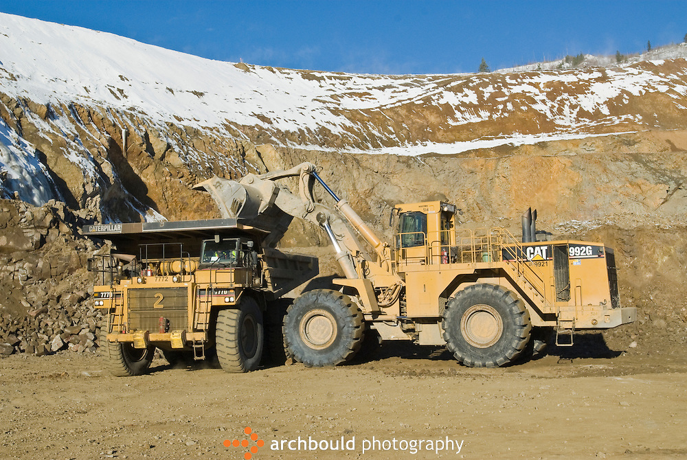 Large scale mining in the Yukon.<br /> <br /> NOT IN YOUR BUDGET? Contact Cathie for a price specific to your project.