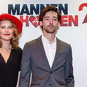 NLD/Amsterdam/20151214 - Film premiere Mannenharten 2, William Voogd