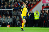 Alexis Sanchez (7) of Arsenal gesturing to one of his team mates during the Premier League match between Bournemouth and Arsenal at the Vitality Stadium, Bournemouth, England on 3 January 2017. Photo by Graham Hunt.