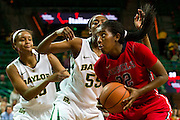 WACO, TX - DECEMBER 18: Danielle McCray #22 of the Mississippi Lady Rebels drives to the basket against the Baylor Bears on December 18 at the Ferrell Center in Waco, Texas.  (Photo by Cooper Neill) *** Local Caption *** Danielle McCray