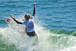 HUNTINGTON BEACH, California/USA (Saturday, July 31, 2010) - Alana Blanchard at the US Open of Surfing 2010 Junior Pro quarterfinals Heat 1.