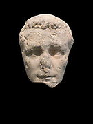 Portrait head of the emperor Caligula. Pentelic marble. Unknown provenance