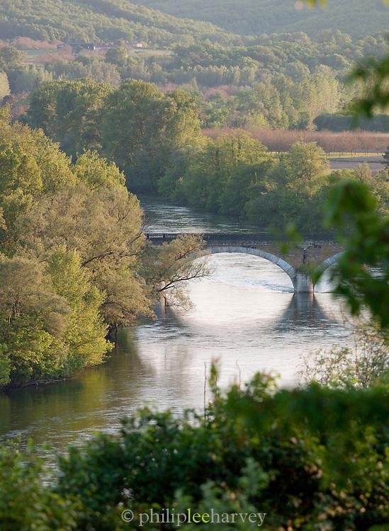 The Dordogne River at Beynac-Et-Cazenac, Dordogne, France