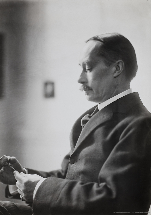 Lewis Hind, writer, England, UK, 1912
