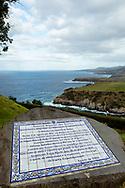 31-10-2016 Azoren Golf Eilanden. Foto's van São Miguel, het grootste van de negen eilanden van de Azoren, Portugal.