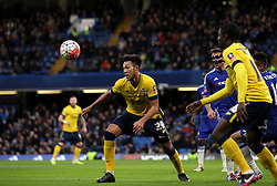 Kyle Wootton of Scunthorpe United controls the ball - Mandatory byline: Robbie Stephenson/JMP - 10/01/2016 - FOOTBALL - Stamford Bridge - London, England - Chelsea v Scunthrope United - FA Cup Third Round