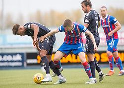 Half time : Falkirk 0 v 0 Inverness Caledonian Thistle, Scottish Championship game played 14/10/2017 at The Falkirk Stadium.