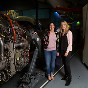 13.09.17.            <br /> Aviation Finance Finuas Network, Introduction To Aviation Leasing, Air Ventures, Shannon. Pictured are, Breda Frawley, Engine Lease Finance and Yvonne Walsh, Engine Lease Finance. Picture: Alan Place