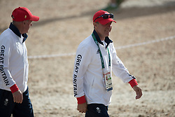 Smeets Freddy, BEL<br /> Horse Inspection Jumping<br /> Olympic Games Rio 2016<br /> © Hippo Foto - Dirk Caremans<br /> 12/08/16