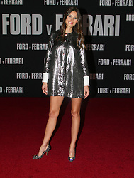 Ford v Ferrari Premiere atThe TCL Chinese Theater in Hollywood, California on 11/4/19. 04 Nov 2019 Pictured: Bianca Balti. Photo credit: River / MEGA TheMegaAgency.com +1 888 505 6342
