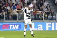 Sami Khedira Juventus gol 3-1, goal celebration,<br /> Torino 04-10-2015, Juventus Stadium, Football Calcio 2015/2016 Serie A, Juventus - Bologna, Foto Filippo Alfero/Insidefoto