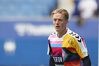 Football - 2021 / 2022 Premier League - Everton vs Southampton - Goodison Park - Saturday 14th August 2021.<br /> <br /> <br /> Everton's Jordan Pickford during the pre-match warm-up <br /> <br /> <br /> Credit COLORSPORT/Terry Donnelly
