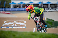 #93 (STEVAUX CARNAVAL Priscilla Andreia) BRA at Round 2 of the 2020 UCI BMX Supercross World Cup in Shepparton, Australia.