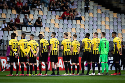 Players of Vitesse during football match between NS Mura and Vitesse (NED) in 1st round of UEFA Europa Conference League 2021/22, on 16 of September, 2021 in Ljudski Vrt, Maribor, Slovenia. Photo by Blaž Weindorfer / Sportida