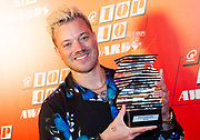 Qmusic Top 40 Awards 2020 Bij Qmusic in Amsterdam.<br /> <br /> Op de foto: Grootste Hit van de 10s: Gers Pardoel